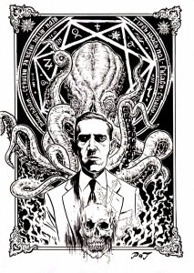hp lovecraft inks small cthulu draw picture liviurocks